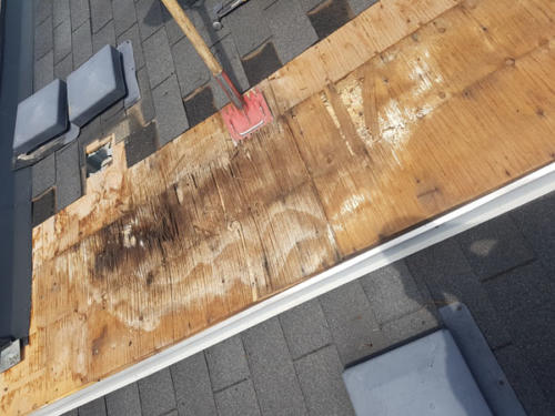 Removal of old shingles