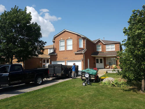 Completed Roof Replacement in Mississauga