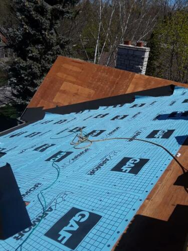 GAF Roofing Shingles Installation